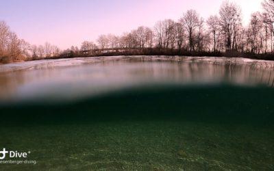 Ein See ganz für uns alleine