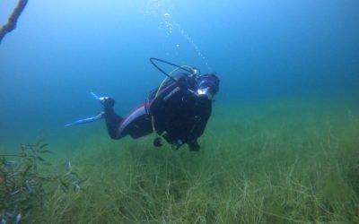 Unwetterspuren unter Wasser